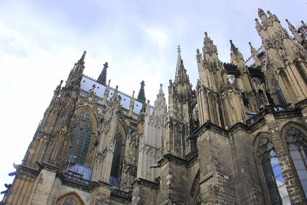 Cologne Cathedral took over 600 years to be completed