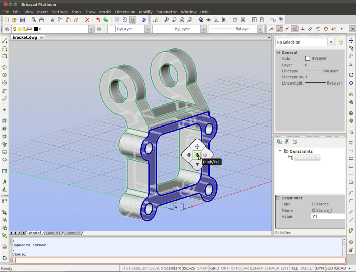 Design with BricsCAD Platinium v12 full