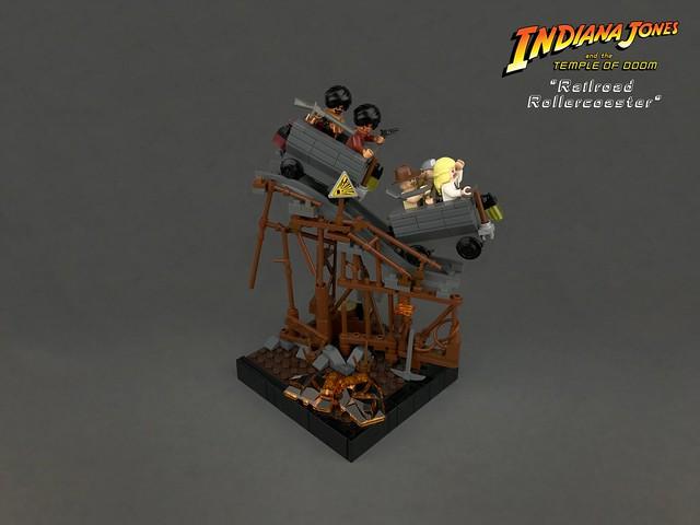 LEGO Indiana Jones Railroad Rollercoaster