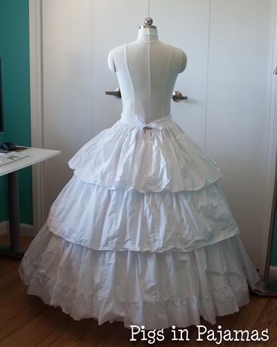 Victorian Petticoat back
