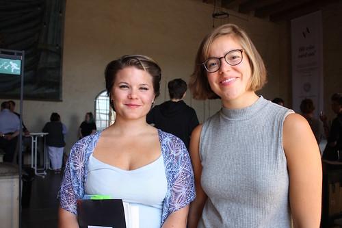Rebecka Elsgard och Lovisa Ehrenkrona