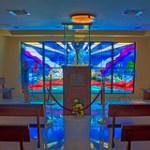 Shrine Our Lady of Charity, 3609 South Miami Avenue, Miami, Florida, USA / Architect: Jose Perez Benitoa / Completed: 1967 / Architectural Style: Miami Modern (MiMo).