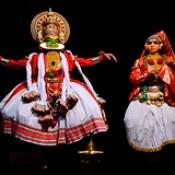 India - Kerala - Fort Cochin - Kathakali Dancer - 221d