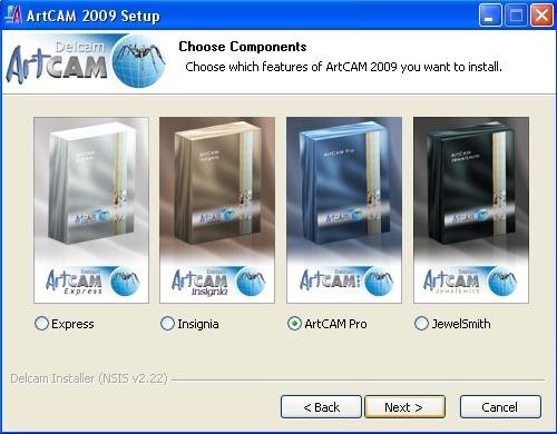ArtCAM 2009 SP2 x86 x64