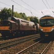 West Coast Railway Company Class 37/5, 37516 & Transpennine Express Class 185, 185111