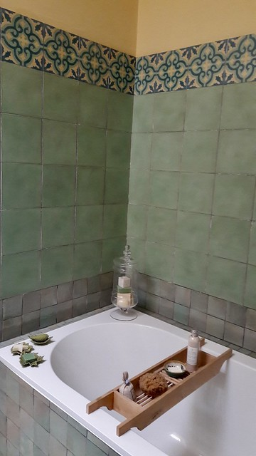 Badkamer groen