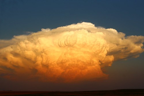 Big ol' thunderhead.