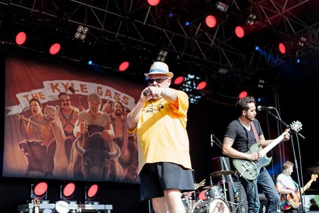 Kyle Gass Band live @ Rockaue Open Air