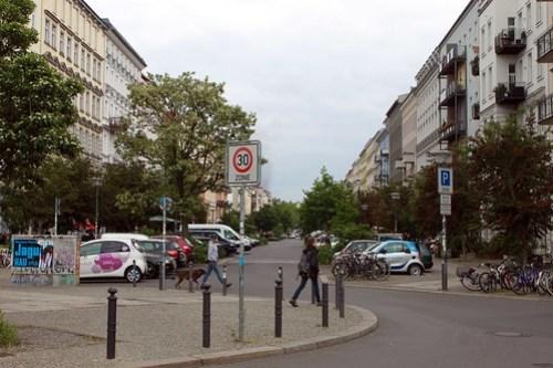 In der Oderberger Straße