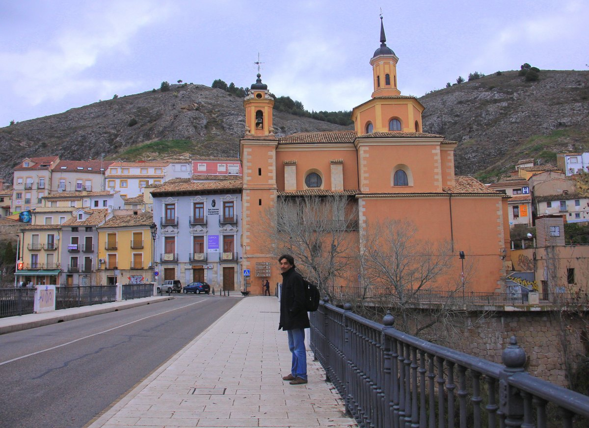 The old town of Cuenca is located at two river gorges