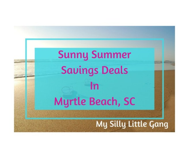 Sunny Summer Savings Deals in Myrtle Beach, SC