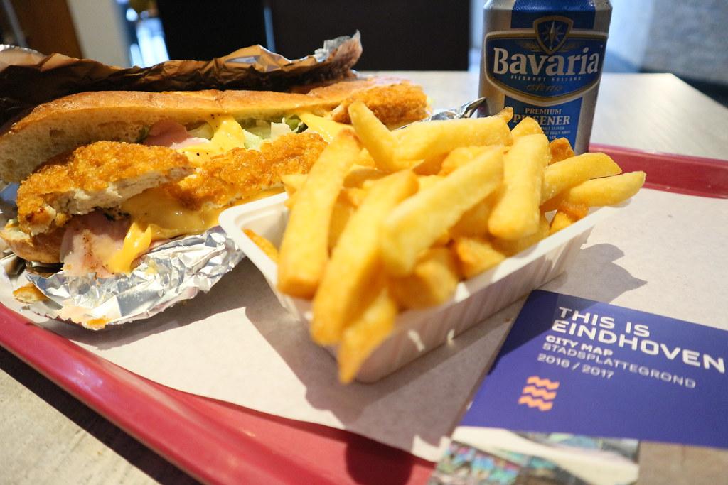 Dónde comer y gastronomía en Eindhoven (Holanda) - Comida rápida JIM's Food Factory.