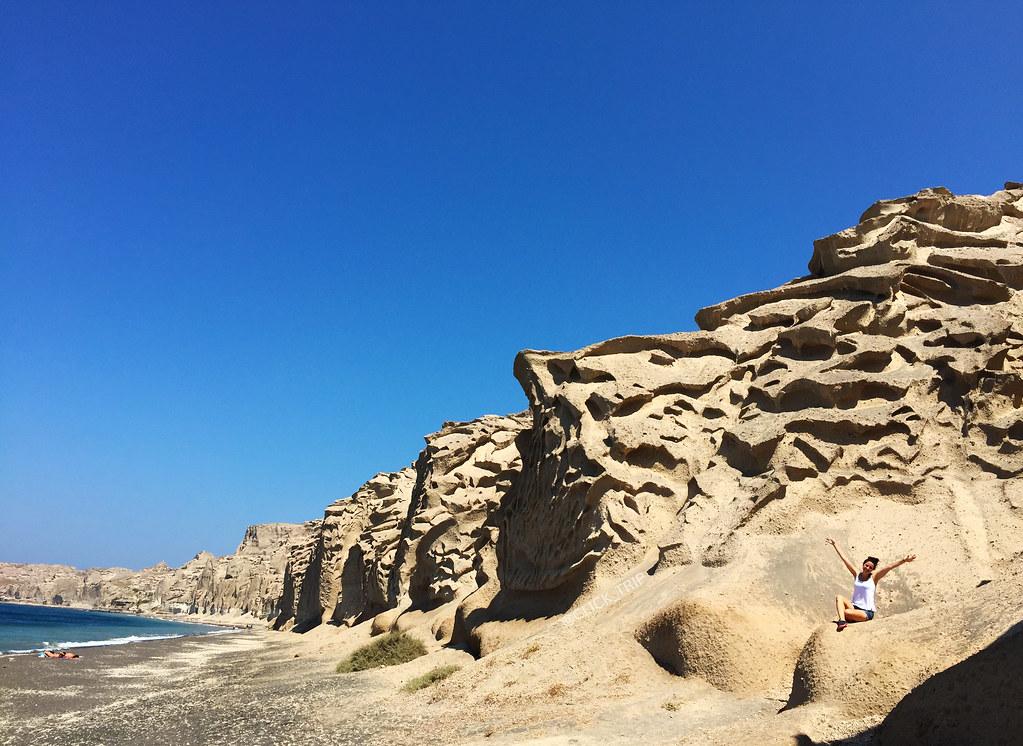 Laderas de Vlychada | Las mejores Playas de Santorini | ClickTrip.ES