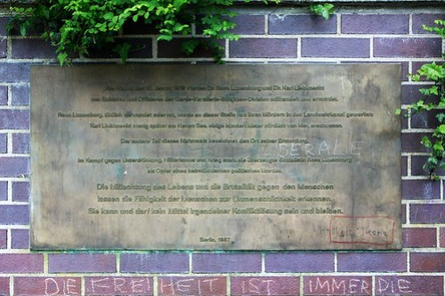 Gedenkstätte für Rosa Luxemburg