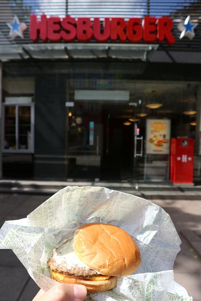 Dónde comer y gastronomía en Kaunas (Lituania) - Hamburguesería Hesburger.