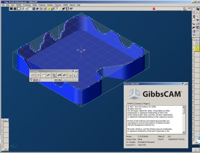 Program with GibbsCAM 2015 (v11.0.18.0) x64 Multilanguage full