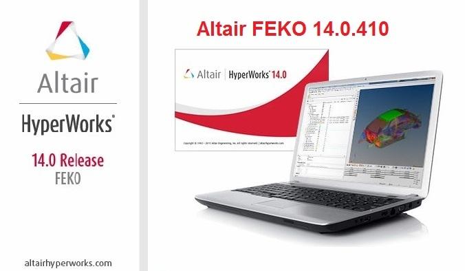 Altair HW FEKO 14.0.410 x64 full license