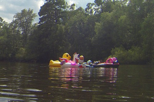 Edisto River Rope Swing and Beer Commercial Float-67