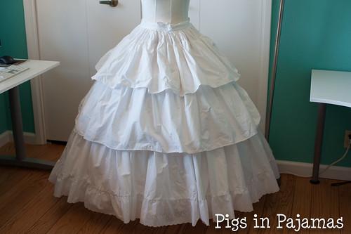 Victorian Petticoat front
