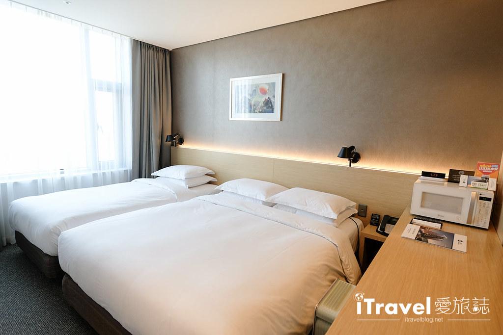 《首尔酒店推介》东大门阿里郎希尔酒店:三人房公寓式酒店