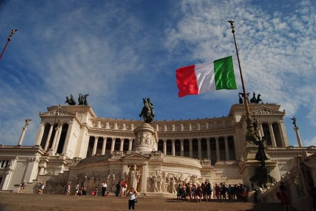 Roma: Monumento a Víctor Manuel II