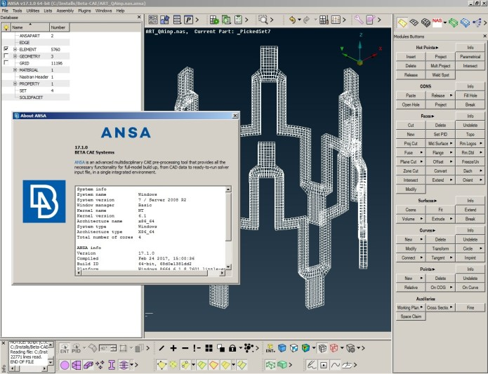 BETA CAE ANSA 17.1.0 win64 full license