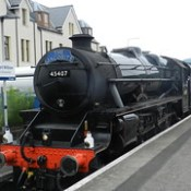 The Jacobite Steam Train 45407, Fort William to Mallaig, 21st June 2017