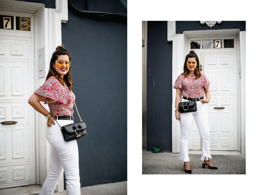 flower-top-zara-frayed-white-jeans-chanel-slingback-jw-anderson-bag-streetstyle16
