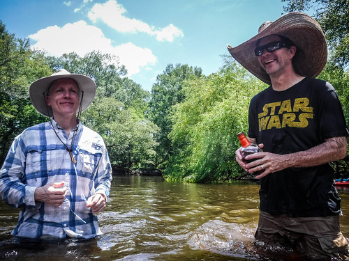 Edisto River Rope Swing and Beer Commercial Float-92