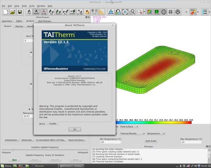 Working with ThermoAnalytics TAITherm 12.1.1 full