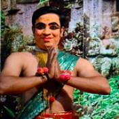 India - Kerala - Fort Cochin - Kathakali Dancer - 107