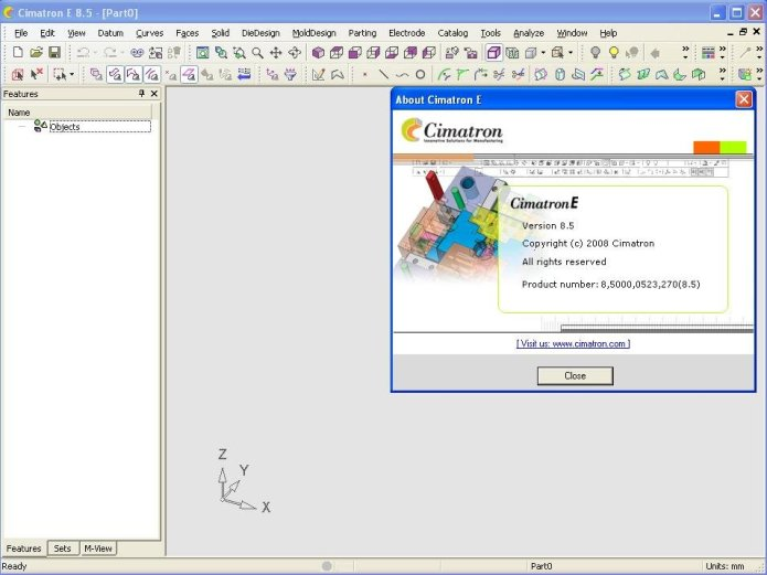 Working with Cimatron Elite E8.5 full license