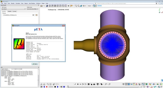 Working with BETA CAE Meta Post v16.2.2 x64 full