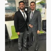 The Carvonis Group Lady Gaga had it right when she sang a song all about Alejandro 🎤🎶 ... Congrats on your promotion bud!  (Thanks for the awesome training and support, Daniel!) #thecarvonisgroup #success101 #movingup #career #miami