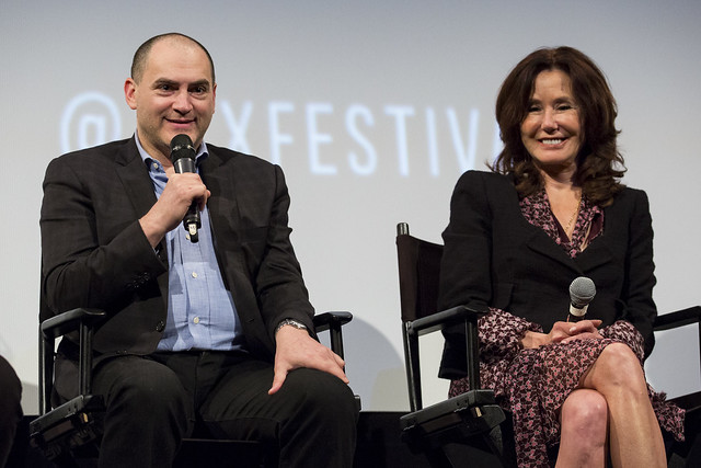 Michael Stuhlbarg and Mary McDonnell