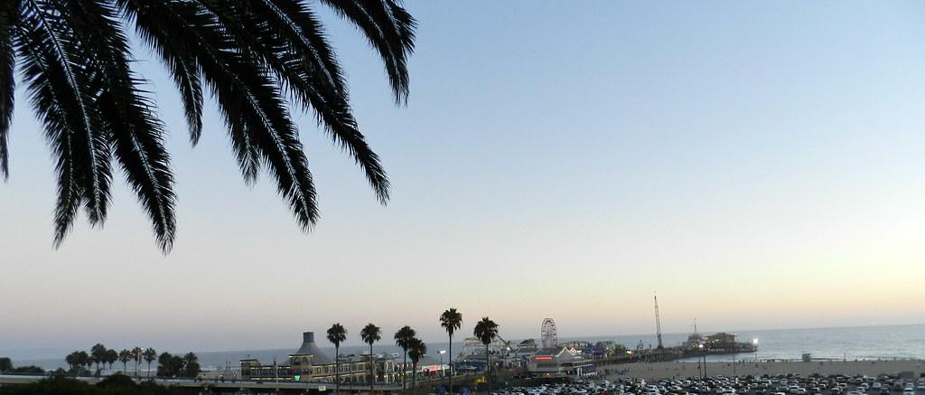 panoramica Santa Monica USA 02