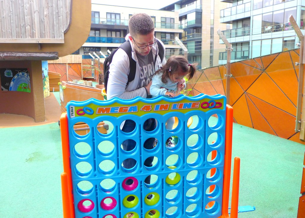Huge Connect Four
