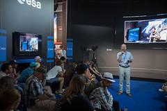 Rosetta presentation at the ESA Pavilion
