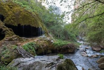 En kom je langs deze Zontik waterval.