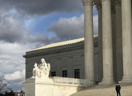 Supreme Court and sky