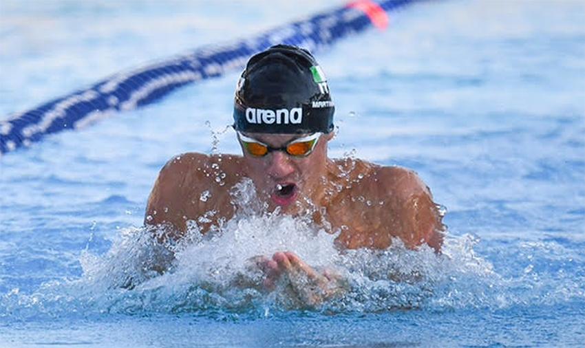 Sette Colli 2017, Martinenghi da record nei 100 rana