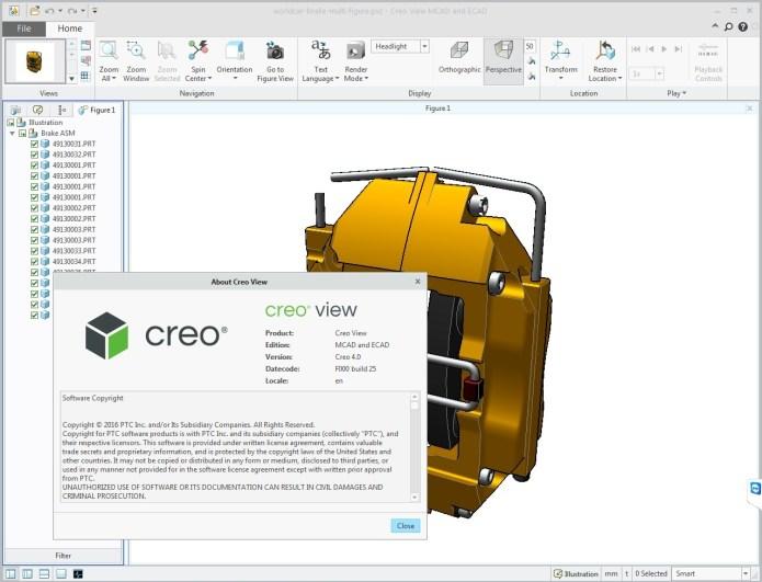 PTC Creo View 4.0 F000 Win+Linux x32 x64