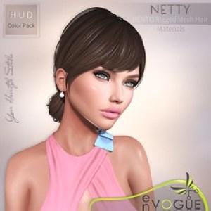 ● ❤️ ● enVOGUE - NETTY Hair - Bento ● ❤️ ●