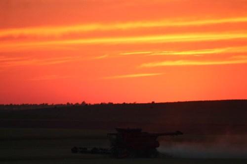 Western Nebraska knows how to sunset.