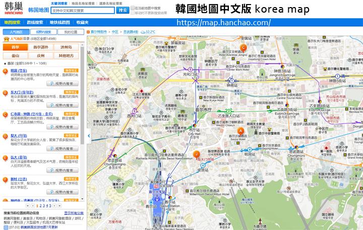 korea-map