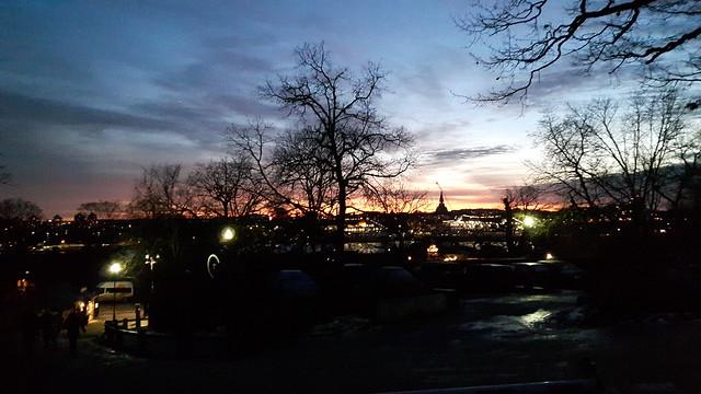Sunset Skansen