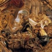 Царь Соломон и царица Савская (1620) (Лондон, галерея Института Курта).