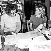 Judith Jones with Julia Child (c. 1959).