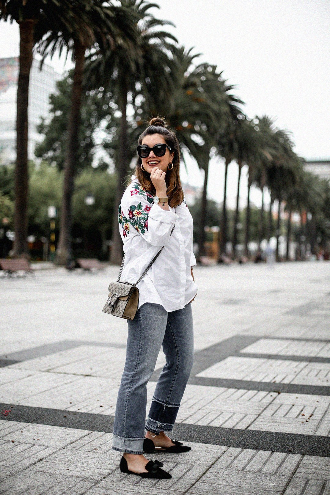 embroidered-white-blouse-bow-flats-hm-gucci-dionysus-streetstyle6