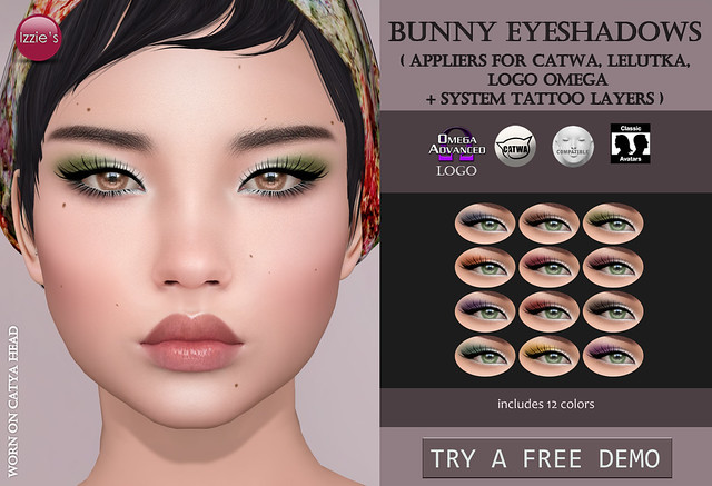 Bunny Eyeshadows (for FLF)